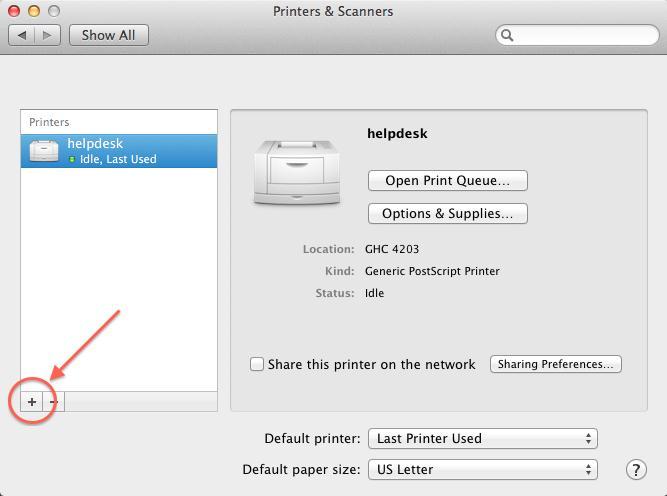 Printing on macOS - SCS Computing Facilities - Carnegie Mellon