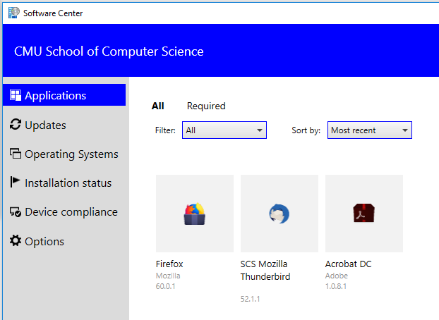 Windows Support - SCS Computing Facilities - Carnegie Mellon